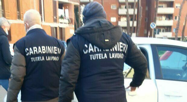 I carabinieri specializzati nella tutela del lavoro