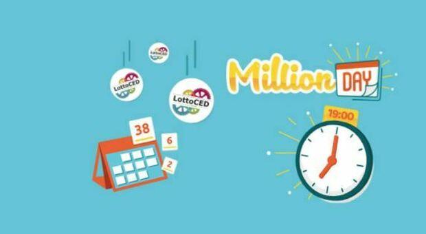 Million Day, si gioca anche di domenica: alle 19 in diretta l'estrazione dei numeri vincenti