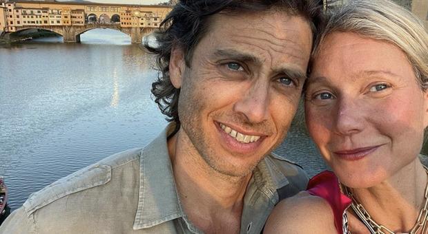 Gwyneth Paltrow, romantica fuga a Firenze con il marito Brad Falchuk