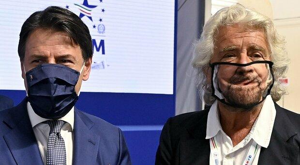 Conte-Grillo, c'è la telefonata ma resta il gelo (e salta il blitz a Roma). Oggi l'ex premier in conferenza alle 17.30