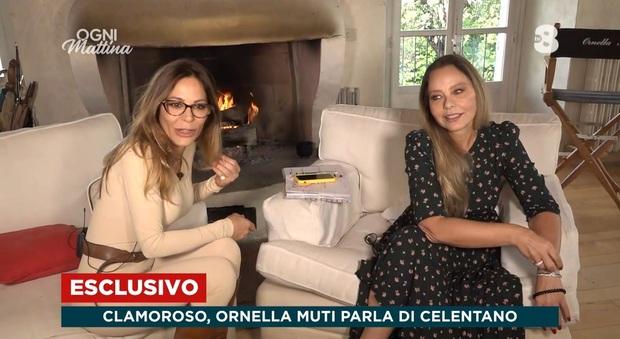 Ogni Mattina: Ornella Muti racconta la verità sulla sua storia con Adriano Celentano: «Claudia Mori lo tradiva»