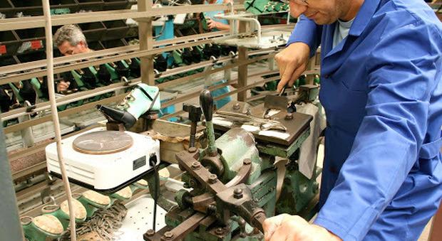 Le imprese del calzaturiero del Fermano sono in grande difficoltà