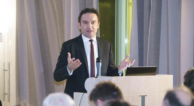 Il presidente di Confindustria Centro Adriatico Simone Mariani