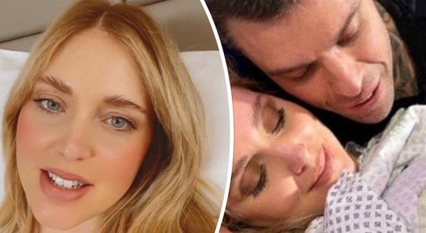 Chiara Ferragni, svelato il mistero del make up in sala parto: «Secondo voi mi trucco per partorire?»