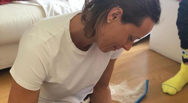 Covid, la quarantena di Federica Pellegrini: «Stanotte mi sembrava che mi stessero trapanando la testa»