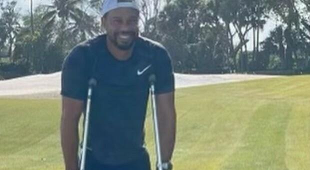 Tiger Woods da Instagram