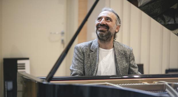 Il grande compositore, pianista e cantante Stefano Bollani