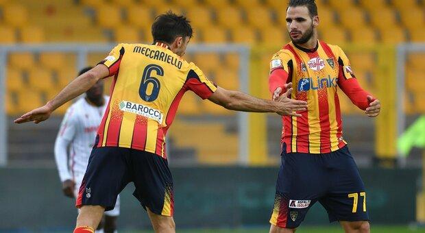 Il Lecce ne fa 7, 2-2 esterni di Empoli e Venezia. Il Monza rimonta, Oddo rischia ancora