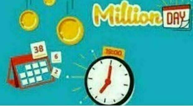 Cinque numeri per vincere un milione: alle 19 in diretta l'estrazione del Million Day
