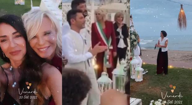 Maria De Filippi celebra il matrimonio di un suo collaboratore con il compagno: c'è anche Giordana Angi