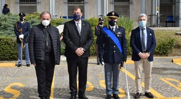 I premiati alla festa della polizia di Ascoli