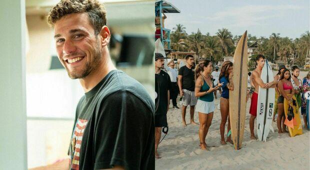 Messico, il surfista Oscar Serra muore travolto da un'onda gigante: «È andato via felice»