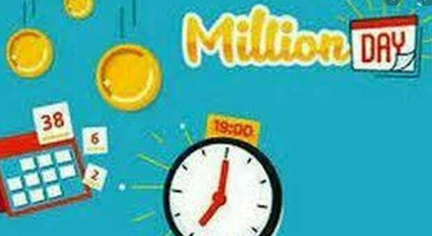 Million Day, alle 19 l'estrazione dei numeri vincenti del 14 maggio 2021