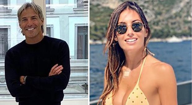 Francesco Bettuzzi ed Elisabetta Gregoraci (Instagram)