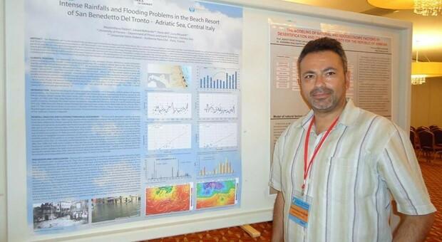 Il climatologo Massimiliano Fazzini docente di Unicam