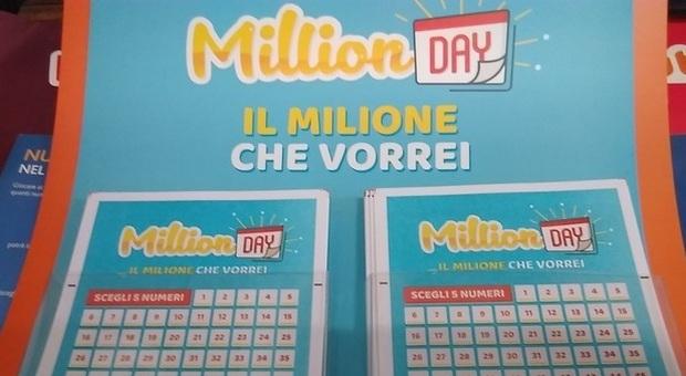 Million Day, alle 19 la diretta dell'estrazione dei numeri vincenti di oggi