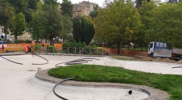 Obiettivo rilancio: una nuova veste per i giardini Diaz. Ecco come è strutturato l'intervento