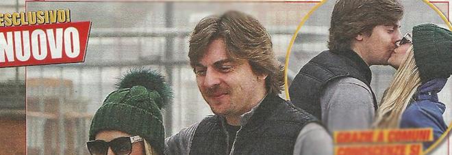 Martina Stella, Andrea Manfredonia e la figlia Ginevra a Cortina D'Ampezzo