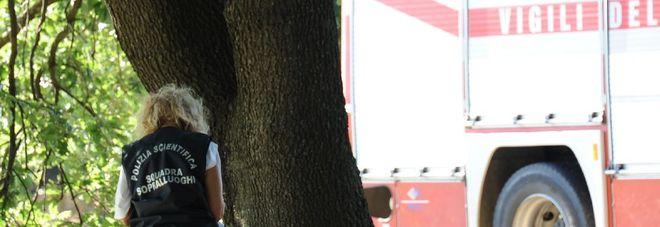 Uomo s'impicca all'albero La denuncia dell'ex moglie ne fa scoprire l'identità