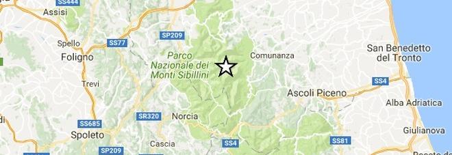 Terremoto, tre scosse ad Ascoli: la più forte di magnitudo 3.6