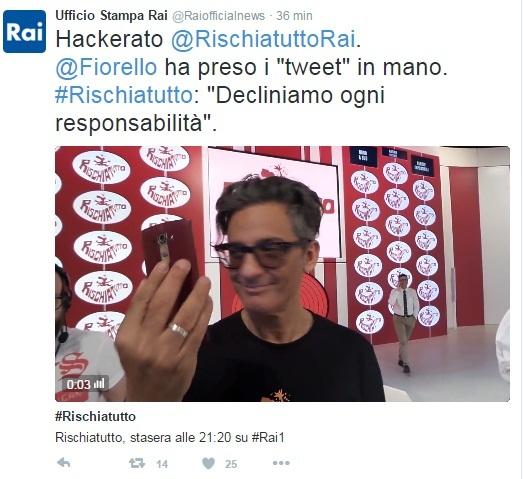 Il Rischiatutto torna giovedì su Rai Uno con Fabio Fazio