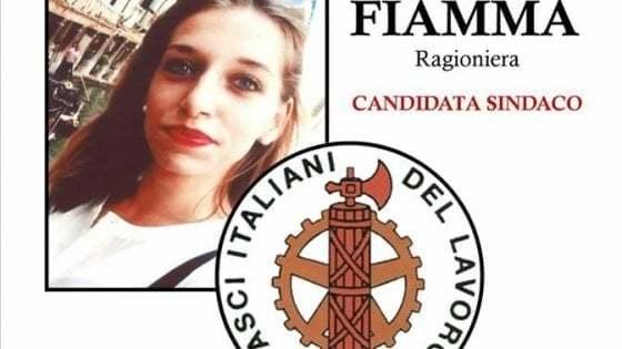 Fiamma, ecco la sexy ragioniera fascista neoeletta nella lista Fasci del lavoro/Guarda