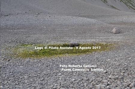 Scomparso il lago di Pilato, asciutto uno dei simboli dei Sibillini