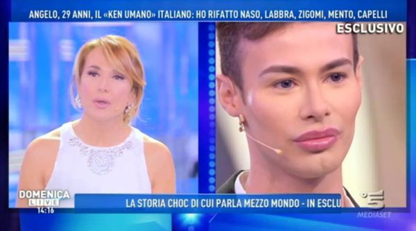 Angelo Sanzio, il Ken umano italiano:
