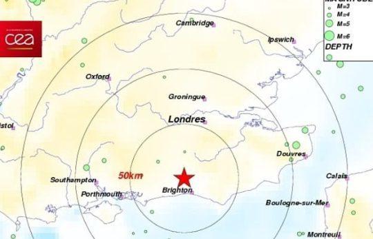 Terremoto a Londra, scossa vicino all'aeroporto di Gatwick